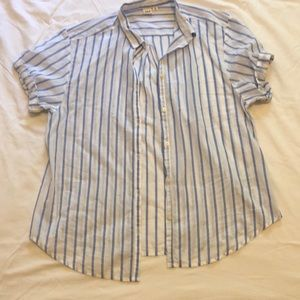 BRAND NEW gap short sleeve button up